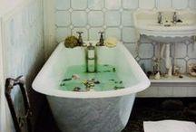 Bathing Ritual / tile. mirrors. tubs. cleansing. views. etc.