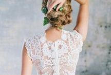 ROMANTIQUE Wedding Dresses by Claire Pettibone / A little Moroccan villa, a touch English garden. Timeless with a vintage vibe. Polaroid-soft light and lavender fields. Graceful, poetic, bohemian wedding gowns made with love in Los Angeles.