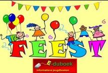 Feest in de klas / Het thema feest in allerlei onderwijsvakken / by Juf Marita