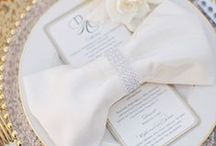 Wedding Receptions | Napkins / Napkins galore! View a large variety of napkin samplings here.....