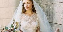 FRENCH WEDDING Style and Wedding Gowns / Claire Pettibone real brides, wedding dresses, and all things ooh-la-la, to inspire a Parisian or French countryside wedding.