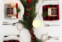 Simple Holiday / Holiday decor, wrapping and celebration ideas