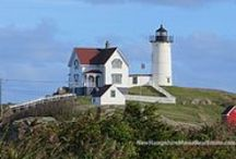 The Lure of Lighthouses / The romance, intrigue, and beauty of lighthouses always captures my attention.... sharing our photos of our local area lighthouses as well as photos that others share that catch my eye.  www.NHCoastalHomes.com
