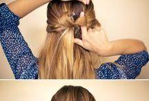 How to - Hair arrangement