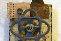Altered;Assemblage;Collage;Found Objects / by Caren Klarman
