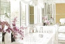 Bath & Powder Rooms / by Ashley Newell