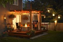 Outdoor spaces / Deck and patio ideas / by Charissa Knouff