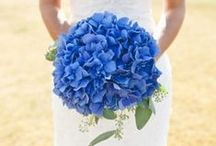 """Something Blue Ideas / The """"something blue"""" in the old saying """"Something Olde, Something New, Something Borrowed, Something Blue, A Sixpence in your Shoe"""" symbolizes purity, love and fidelity. Keep an old tradition alive in a new way with these unique ideas for incorporating the #somethingblue into your wedding day."""