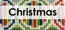 Christmas cross stitch / Seasonal cross stitch patterns to celebrate the Christmas holidays!