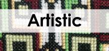 Artistic cross stitch / Explore the artistic world through cross stitch