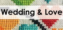 Wedding and engagement cross stitch / Want your wedding or engagement present to stand out? Stitch up one of our patterns.