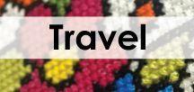 Travel cross stitch / Remember you favourite holiday by stitching up one of our travel cross stitch patterns.