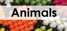 Creatures and Critters Cross Stitch / Dedicated to all animal themed cross stitch patterns, with a modern twist