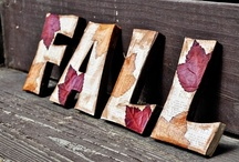 Autumn / Crafts and decor for Fall / by Haley