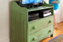 Furniture / Fun DIY furniture or go out and buy it instead / by Haley