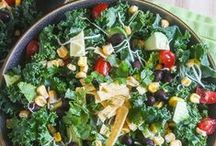 Salads Galore! / Salad recipes of all kinds. / by The Dinner-Mom