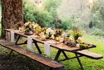 Eco Chic Wedding Ideas / Reuse, Recycle, Save the Planet