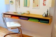 Creative Work Station Rooms..... / Art, DYI, Projects, etc...Working space for the Creative Mind.....