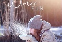Winter Wonder, Fun & Bliss... / Winter Activities, and Warm Cozy Things to do....