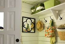 Foyer's , Mudrooms & Main Entrances / Decorating and Organizational Ideas,