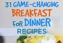 Breakfast never tasted so good / Breakfast for lunch, or supper I mean who made the rules ??