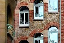 Old World Charm / Vintage Style Apartments / Buildings/ Homes, and Decor.