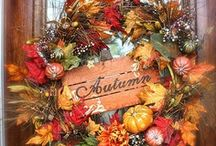 Wreaths & Other Door Decor / by Becky Schneider-Hauk
