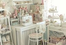 Craft Room Ideas / by Becky Schneider-Hauk