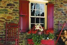 Shutters & Window Boxes