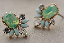 ear sparklers. (earrings) / by Heather Johnson