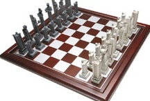 Chess Boards & Pieces / by Linda Edmonds Cerullo