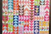 Quilts - A<cute Geese / get your pythagorean theorem on!  (Flying geese and triangles) / by Naomi Anderson