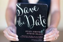 Save the Dates / Invitations / by Ashley Korslien