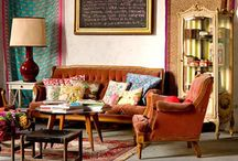 Moroccan Boho Eclectic Funky / Bright, bold and anything but Minimalistic.