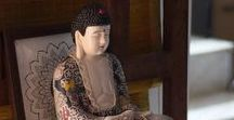 """Buddha in Decor / A collection of spaces that have the """"Buddha"""" element in their decor."""