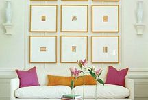 Gallery wall / Inspiration to create a gallery wall