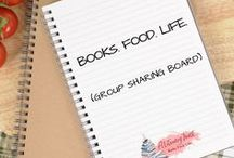 Books. Food. Life. (Group sharing board) / You are welcome to join this group board and share your pins! High-quality, vertical pins only. Please repin one pin for every pin you post. To join, follow me (aLiteraryFeast) and comment on this pin: https://www.pinterest.com/pin/9148005481805909/