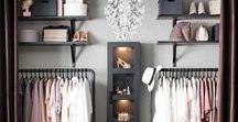 Closet Envy / Ideas for Closet Renovation, reorganization, and storage