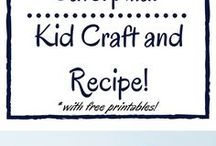 Kid Crafts and Activities / Great crafts and easy activities for kids. Book inspired crafts and activities.