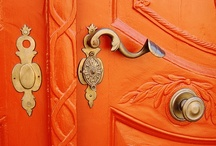 ohlala orange. / by Asa Lindstrom