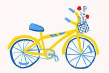 Icon: Cycling and Scooting / by Sarah Bibi