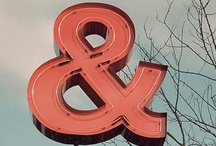 Icon: The Ampersand / by Sarah Bibi