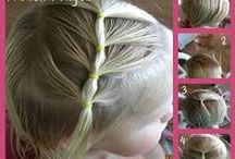 """Little girl hair..""""""""Little girls have a magic all their own.""""  / Bows, headbands and hairstyles for little girls / by Kay M"""