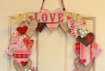 """Valentines...""""A hundred hearts would be too few To carry all my love for you."""" / Valentine decorations, recipes, activities, etc. / by Kay M"""