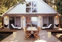 Interiors + Exteriors / by The Brunette One