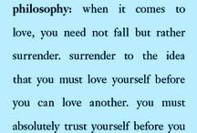 limitless love / you have to love yourself before you can truly love another / by philosophy