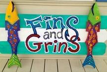 """""""Fins & Grins"""" Beach Cottage"""
