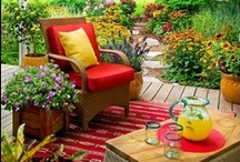 Front Porches and Patios / Décor and furniture ideas for outdoor decorating