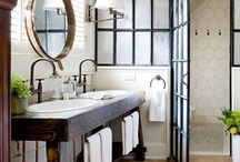 His & Hers Bathroom  / by Jessica Kersten