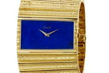 """Gold and Color / The """"Gold and Color"""" #exhibition at the Piaget Time Gallery in #Geneva, revisits iconic Piaget timepieces from the 60's to the 80's. Discover them all!"""
